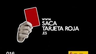 Saca Tarjeta Roja – Ministerio de Igualdad